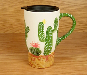 Oxford Valley Cactus Travel Mug