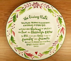 Oxford Valley The Giving Plate